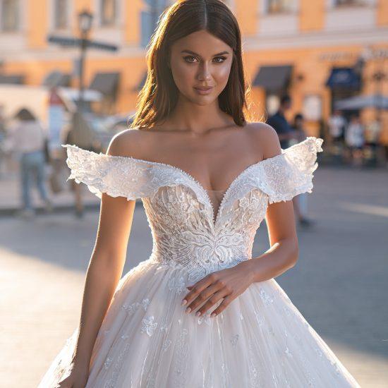 Kāzu kleita Avrora1