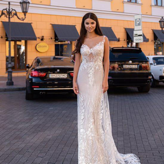 Kāzu kleita Livia1